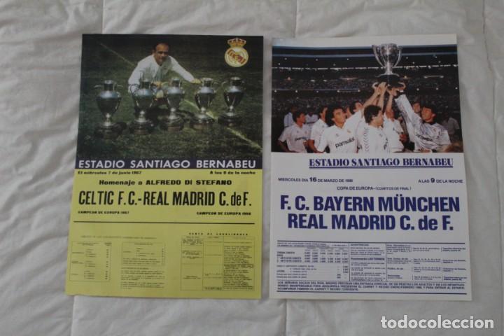 DIARIO AS. CARTELES DE PARTIDOS HISTÓRICOS DEL REAL MADRID. EDICIÓN FACSÍMIL (Coleccionismo Deportivo - Revistas y Periódicos - As)