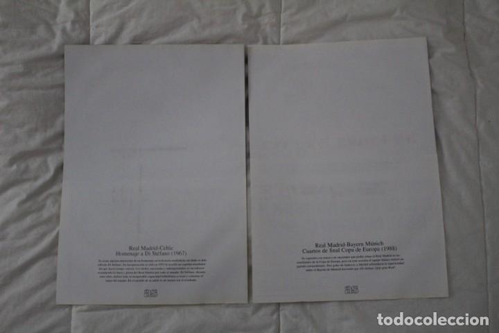 Coleccionismo deportivo: DIARIO AS. CARTELES DE PARTIDOS HISTÓRICOS DEL REAL MADRID. EDICIÓN FACSÍMIL - Foto 2 - 130896540
