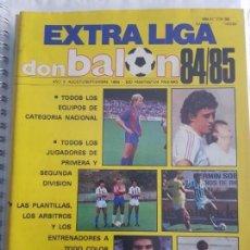 Coleccionismo deportivo: EXTRA LIGA DON BALON 84 85. Lote 130868648