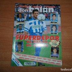 Coleccionismo deportivo: DON BALON 929 POSTER VITOR REAL MADRID FREDDY RINCON AMERICA CALI FUTBOL INGLES INAGURACION ANOETA . Lote 130907296