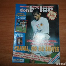 Coleccionismo deportivo: DON BALON 931 ESPECIAL LOS Nº 1 DEL FUTBOL ESPAÑOL JOAN GAMPER REDONDO TENERIFE MURCIA POSTER CAMAR. Lote 130908836