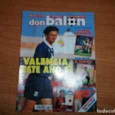 Coleccionismo deportivo: DON BALON 936 CAÑIZARES CELTA DE VIGO POSTER DUBOVSKY REAL MADRID MARADONA NEWELLS ZIDANE GIRONDINS . Lote 130910756
