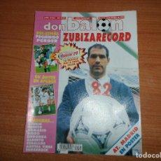 Coleccionismo deportivo: DON BALON 937 ESPECIAL 2 ª B POSTER ALINEACION ATLETICO MADRID FUTBOL MEJICANO ZUBIZARRETA SELECCION. Lote 130911012