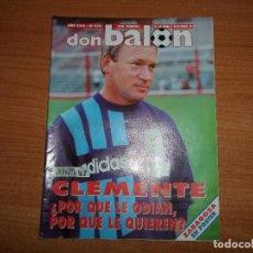 Coleccionismo deportivo: DON BALON 939 REAL SOCIEDAD VALLADOLID POSTER ZARAGOZA FUTBOL BRASIL BARCELONA VS AUSTRIA VIENA . Lote 130911624