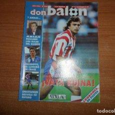 Coleccionismo deportivo: DON BALON 940 POSTER LOGROÑES 93 94 LOPETEGIO SAMITIER DEL BARCELONA POPOV Y RADCHENKO RACING . Lote 130911812