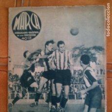 Coleccionismo deportivo: SEMANARIO GRAFICO DE LOS DEPORTES MARCA N,36 DE 1939 OCTUBRE. Lote 131224076