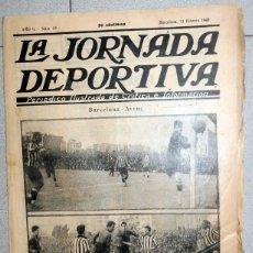 Coleccionismo deportivo: JORNADA DEPORTIVA Nº19 FEBRERO 1922 FC BARCELONA AVENÇ FC SANT ANDREU COPA CATALUÑA FÚTBOL BETIS . Lote 131385018
