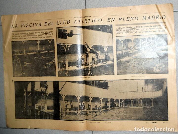 Coleccionismo deportivo: LA JORNADA DEPORTIVA Nº51 Agosto 1922 CAMPEONATO EUROPA REMO CLUB ATLETICO MADRID FUTBOL VINTAGE - Foto 2 - 246906425