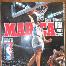 Coleccionismo deportivo: GUIA NBA 2001/ 2002 - BASKET- ANUARIO OFICIAL TOMO MARCA-. Lote 131510806
