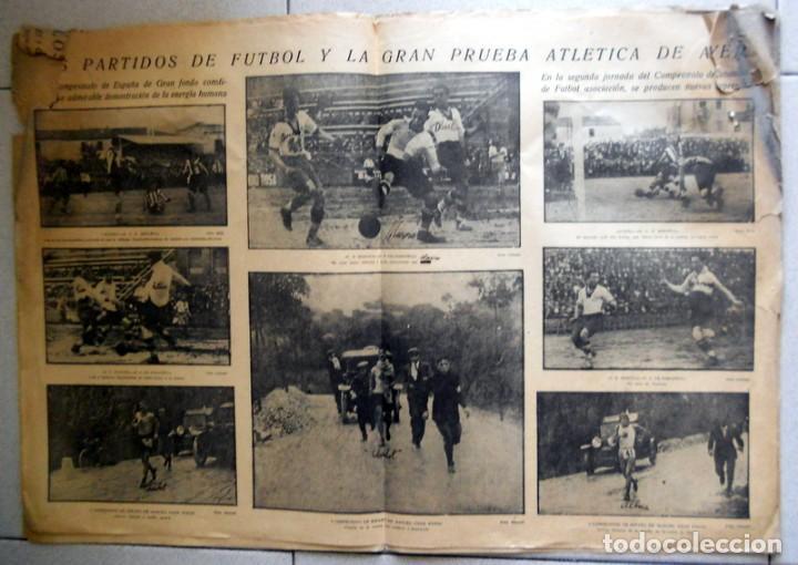 Coleccionismo deportivo: LA JORNADA DEPORTIVA Nº70 Octubre 1922 CE SABADELL CD EUROPA COPA CATALUÑA - FUTBOL VINTAGE - MARCHA - Foto 2 - 131535602