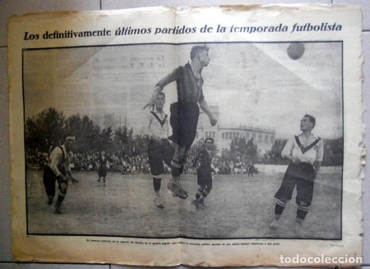Coleccionismo deportivo: LA JORNADA DEPORTIVA Nº171 Julio 1923 TERRASSA UNIÓ SPORTIVA DE SANS SABADELL POSTER FUTBOL VINTAGE - Foto 2 - 131536014