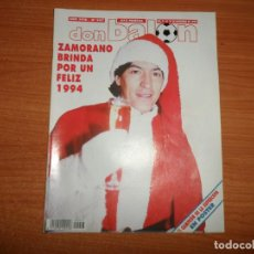 Coleccionismo deportivo: DON BALON 947 ROMARIO BELODEDICI VALENCIA SUPERCOPA BARCELONA VS POSTER CAMPEON REAL MADRID CAMPEON. Lote 132027518