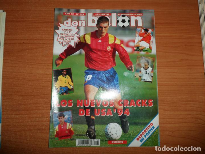 DON BALON 948 ALKIZA REAL SOCIEDAD POSTER DEPORTIVO LA CORUÑA REDONDO ARGENTINA (Coleccionismo Deportivo - Revistas y Periódicos - Don Balón)