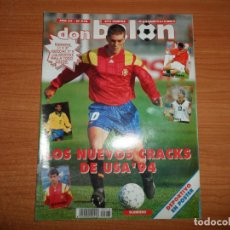 Coleccionismo deportivo: DON BALON 948 ALKIZA REAL SOCIEDAD POSTER DEPORTIVO LA CORUÑA REDONDO ARGENTINA. Lote 132028154