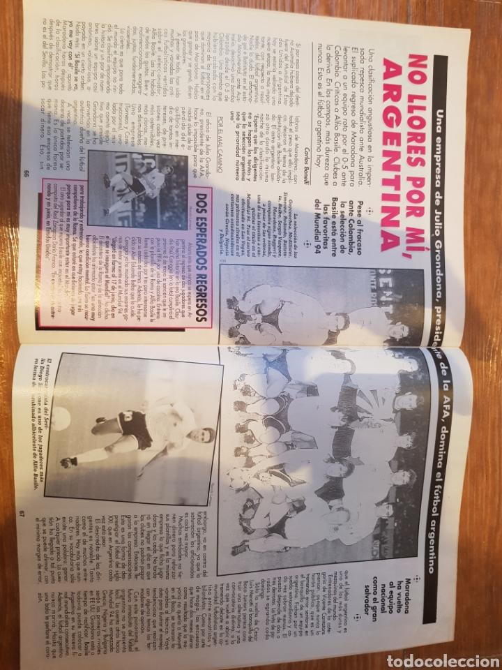 Coleccionismo deportivo: DON BALON 948 ALKIZA REAL SOCIEDAD POSTER DEPORTIVO LA CORUÑA REDONDO ARGENTINA - Foto 2 - 132028154