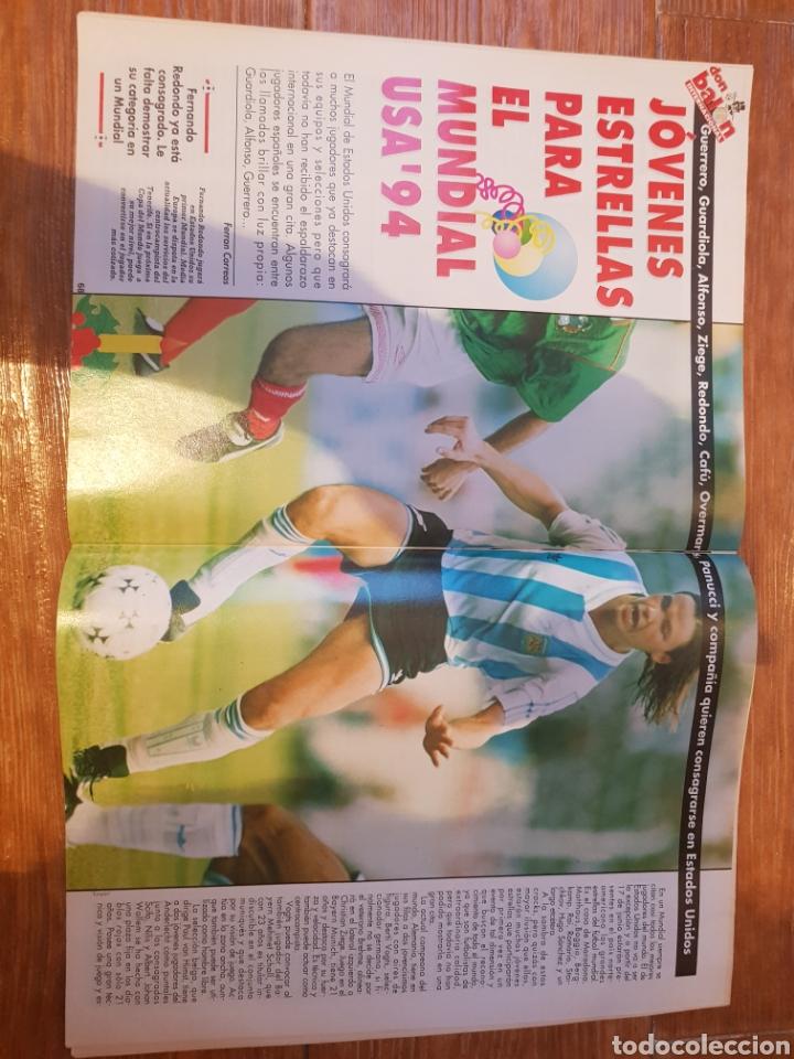 Coleccionismo deportivo: DON BALON 948 ALKIZA REAL SOCIEDAD POSTER DEPORTIVO LA CORUÑA REDONDO ARGENTINA - Foto 3 - 132028154