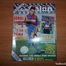 Coleccionismo deportivo: DON BALON 951 SERGI BARCELONA NILSON ALBACETE POSTER VALENCIA SUPER COPA EUROPA PARMA VS MILAN. Lote 132032878