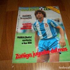 Coleccionismo deportivo: DON BALON Nº 486 FEBRERO 1985 ZUÑIGA ESPAÑOL ESPANYOL JUGADOR DEL MES POSTER ESTEBAN FC BARCELONA. Lote 132075714