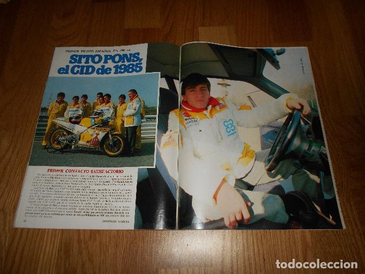 Coleccionismo deportivo: DON BALON 487 COLOR MOTOCICLISMO SITO PONS - BAKERO REAL SOCIEDAD ABLANEDO SPORTING- BASKET BREOGAN - Foto 4 - 132076786
