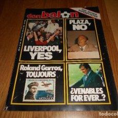 Coleccionismo deportivo: DON BALON 452 LIVERPOOL EUROPE CHAMPION LEVA SUPER POSTER COLOR ALINEACION HERCULES - ELCHE- RACING. Lote 132080046