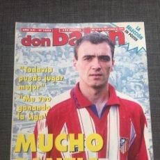 Coleccionismo deportivo: DON BALON 1045 - ATLÉTICO DE MADRID - PANTIC - PÓSTER SELECCIÓN ESPAÑOLA - ESPAÑA - RAUL GONZÁLEZ. Lote 132093033