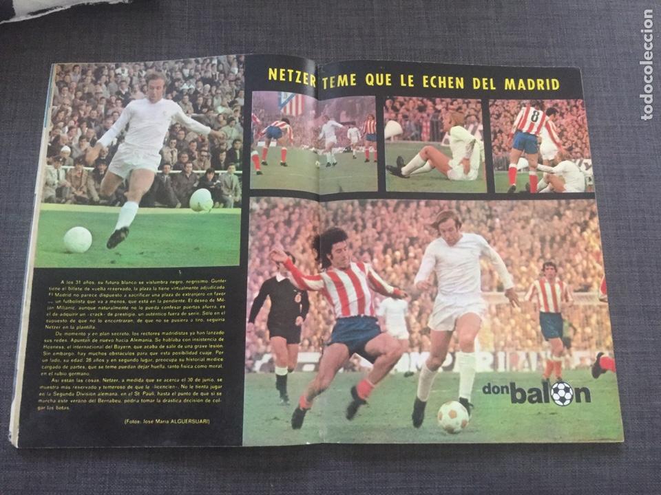 Coleccionismo deportivo: Don balon número 16 - Vicente Calderón - netzer - Arrua - Foto 3 - 132151213