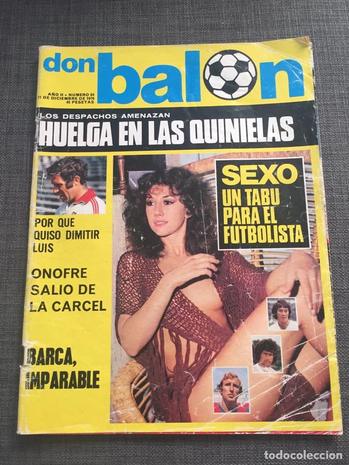 DON BALON NÚMERO 64 - LUIS ARAGONES - FC BARCELONA (Coleccionismo Deportivo - Revistas y Periódicos - Don Balón)