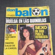 Coleccionismo deportivo: DON BALON NÚMERO 64 - LUIS ARAGONES - FC BARCELONA. Lote 132192891