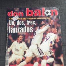 Coleccionismo deportivo: DON BALON NÚMERO 1272 - PÓSTER KIKO - REAL MADRID. Lote 132193239
