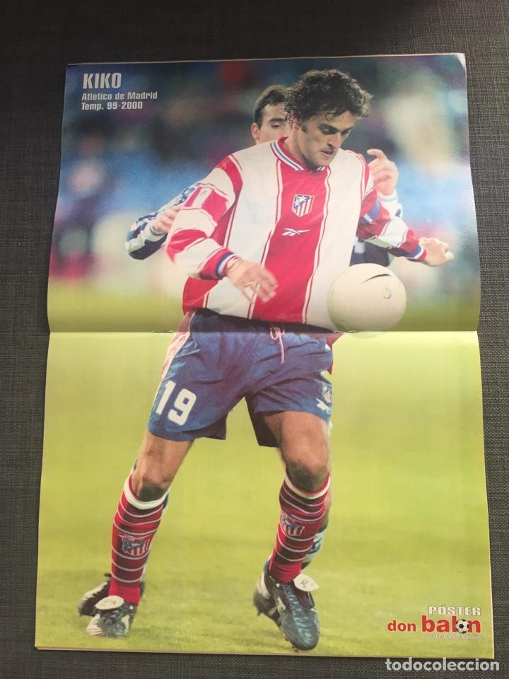 Coleccionismo deportivo: Don balon número 1272 - póster Kiko - Real Madrid - Foto 2 - 132193239