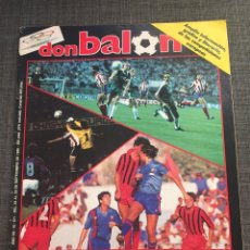 Coleccionismo deportivo: DON BALON NÚMERO 571 - COPAS EUROPEAS - REAL MADRID - ATLÉTICO - ZARAGOZA. Lote 132193806