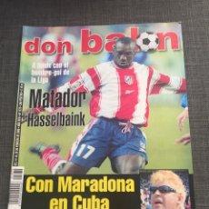 Coleccionismo deportivo: DON BALON NÚMERO 1270 - PÓSTER VALLADOLID - MARADONA. Lote 132193967