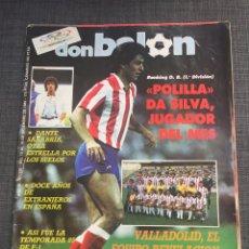 Coleccionismo deportivo: DON BALON NÚMERO 530 - VALLADOLID - POLILLA DA SILVA. Lote 132194166