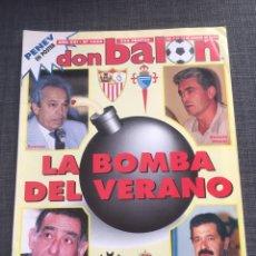 Coleccionismo deportivo: DON BALON NÚMERO 1034 - PÓSTER PENEV - DEPORTIVO - SEVILLA - CELTA. Lote 132195093