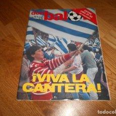 Coleccionismo deportivo: REVISTA DON BALON Nº 343 REAL SOCIEDAD CAMPEON DE LIGA 81/82 EXTRA ESPECIAL TEMPORADA 1981/1982. Lote 132244470