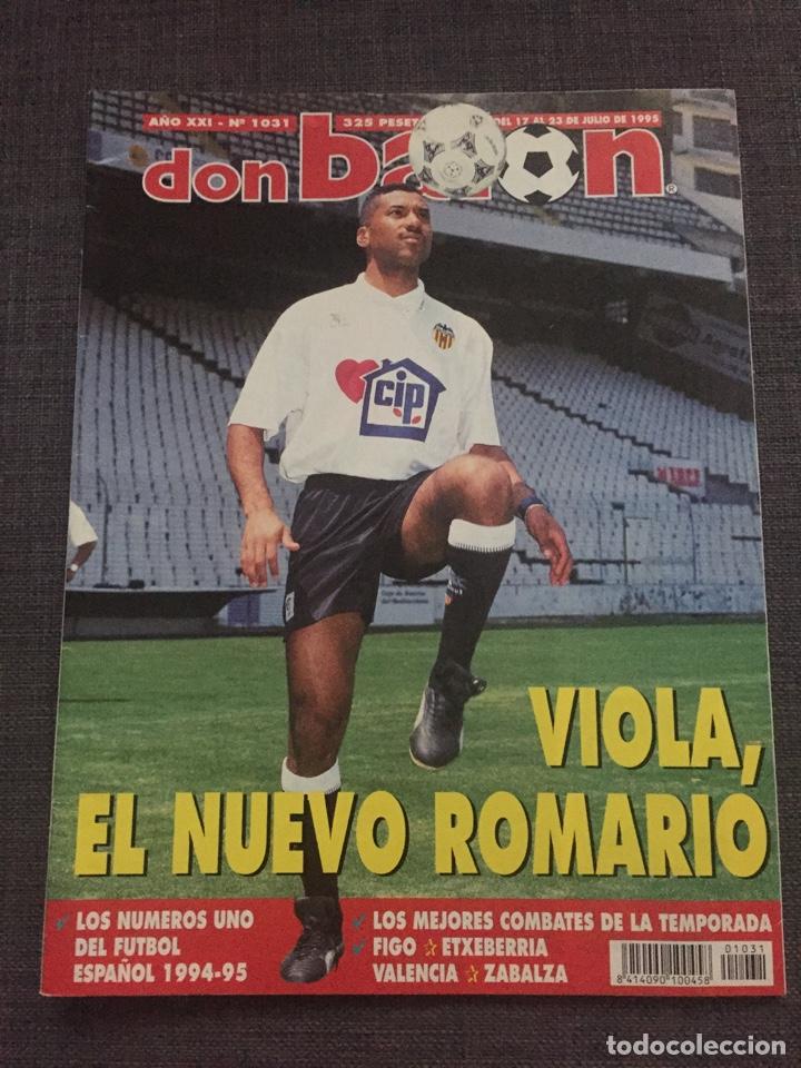 DON BALON NÚMERO 1031 - VIOLA - ETXEBERRIA - DIGO (Coleccionismo Deportivo - Revistas y Periódicos - Don Balón)