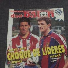 Coleccionismo deportivo: DON BALON NÚMERO 1051 - PÓSTER ATLÉTICO DE MADRID - SIMEONE - DEPORTIVO. Lote 132317775