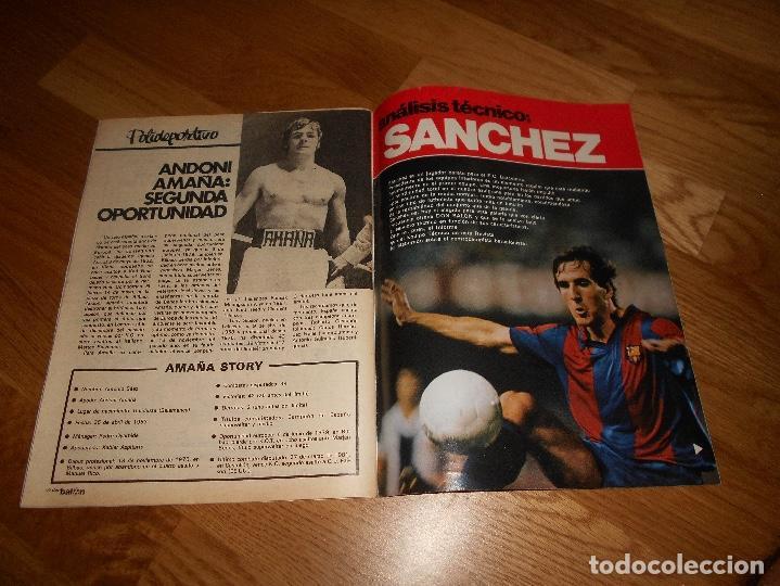 Coleccionismo deportivo: REVISTA DON BALON Nº 292 - AÑO VII 12 AL 18 MAYO DE 1981 STIELIKE REAL MADRID. - Foto 5 - 132333466