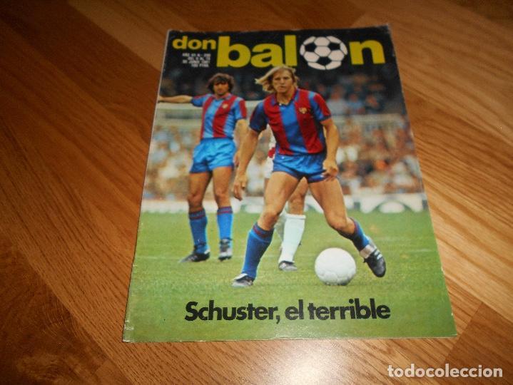 Coleccionismo deportivo: REVISTA DON BALON Nº 292 - AÑO VII 12 AL 18 MAYO DE 1981 STIELIKE REAL MADRID. - Foto 7 - 132333466