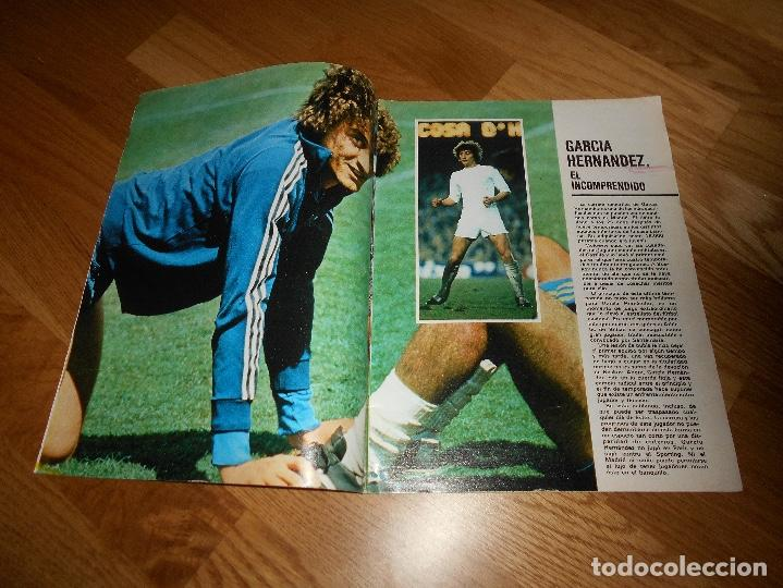 Coleccionismo deportivo: REVISTA DON BALON Nº 292 - AÑO VII 12 AL 18 MAYO DE 1981 STIELIKE REAL MADRID. - Foto 8 - 132333466