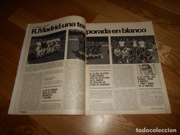 Coleccionismo deportivo: REVISTA DON BALON Nº 292 - AÑO VII 12 AL 18 MAYO DE 1981 STIELIKE REAL MADRID. - Foto 9 - 132333466