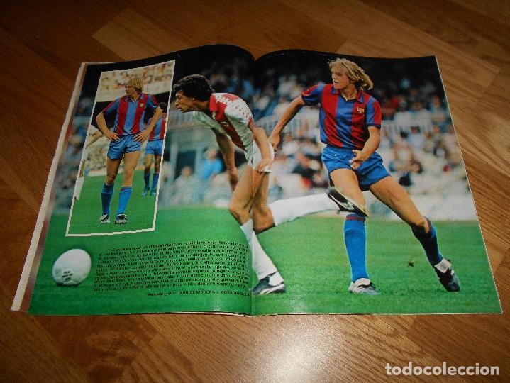 Coleccionismo deportivo: REVISTA DON BALON Nº 292 - AÑO VII 12 AL 18 MAYO DE 1981 STIELIKE REAL MADRID. - Foto 10 - 132333466