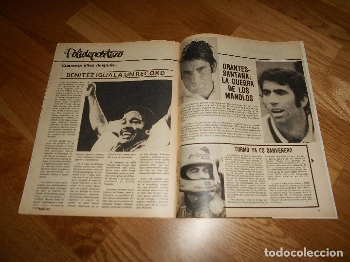 Coleccionismo deportivo: REVISTA DON BALON Nº 292 - AÑO VII 12 AL 18 MAYO DE 1981 STIELIKE REAL MADRID. - Foto 11 - 132333466