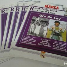 Coleccionismo deportivo: REAL MADRID... Y VAN 26 LIGAS - COLECCIONABLE COMPLETO DEL DIARIO MARCA - 7 FASCÍCULOS. Lote 132338774