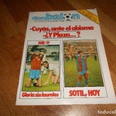 Coleccionismo deportivo: OCASION UNICA COLECCIONISTAS REVISTA DON BALON UNICA Nº 450 1984 CAMPEON RECOPA JUVENTUS Y FASCICULO. Lote 132366806
