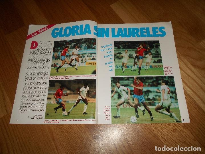 Coleccionismo deportivo: OCASION UNICA COLECCIONISTAS Revista Don Balon unica Nº 450 1984 CAMPEON RECOPA JUVENTUS y fasciculo - Foto 2 - 132366806