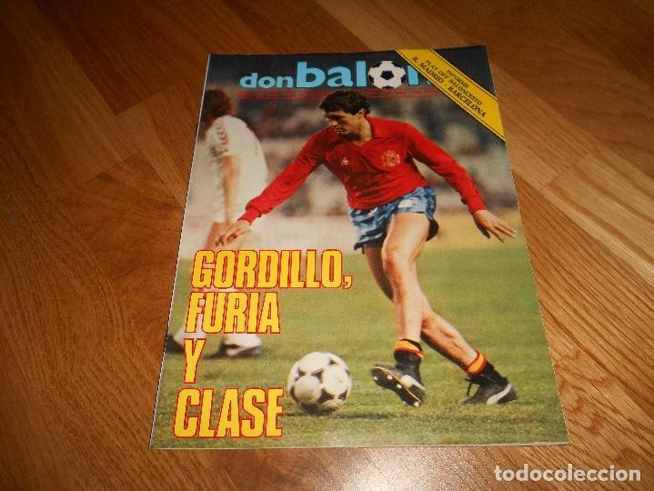 Coleccionismo deportivo: OCASION UNICA COLECCIONISTAS Revista Don Balon unica Nº 450 1984 CAMPEON RECOPA JUVENTUS y fasciculo - Foto 7 - 132366806
