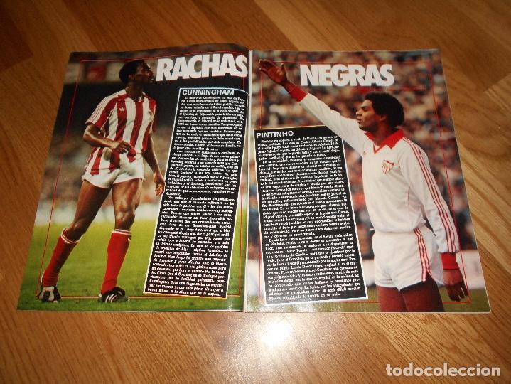 Coleccionismo deportivo: OCASION UNICA COLECCIONISTAS Revista Don Balon unica Nº 450 1984 CAMPEON RECOPA JUVENTUS y fasciculo - Foto 8 - 132366806