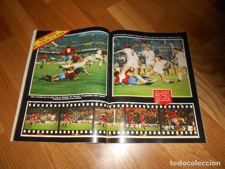 Coleccionismo deportivo: OCASION UNICA COLECCIONISTAS Revista Don Balon unica Nº 450 1984 CAMPEON RECOPA JUVENTUS y fasciculo - Foto 11 - 132366806