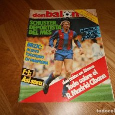 Coleccionismo deportivo: DON BALON Nº 495 COLOR BASKET FINAL COPA EUROPA REAL MADRID VS CIBONA ( PETROVIC) POSTER LAS PALMAS. Lote 132372470